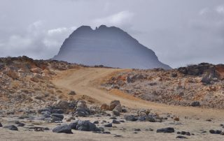 Desert Landscape on Sao Vicente in Cape Verde