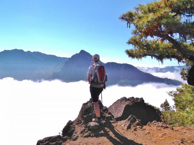 La Palma Canary islands - hiking above the clouds