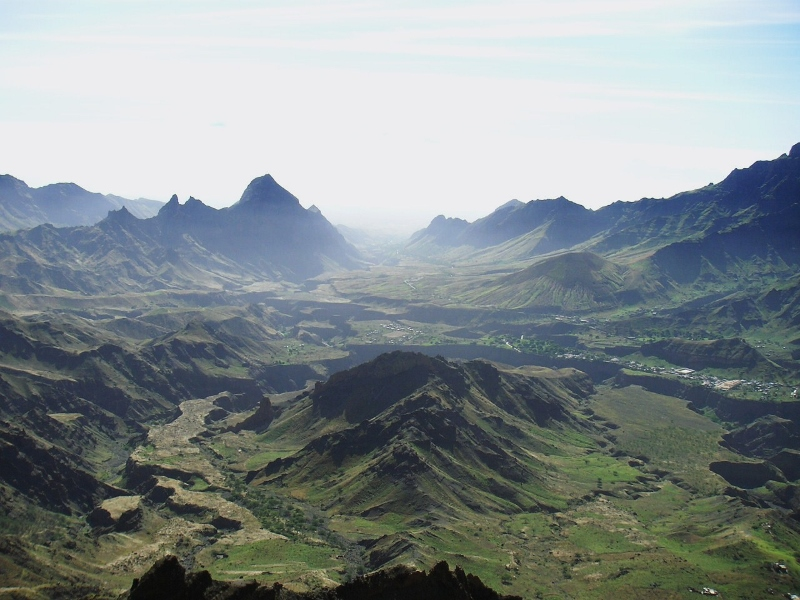 "Trekking ""Funana"" - Lunar landscape in Cabo Verde Islands"