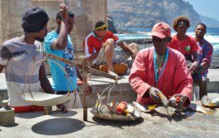 Lokale Fischer auf den Kapverdischen Inseln