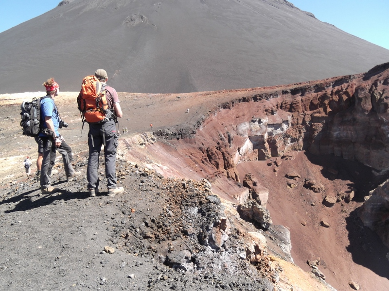 Fogo volcano crater of Pico Pequenho