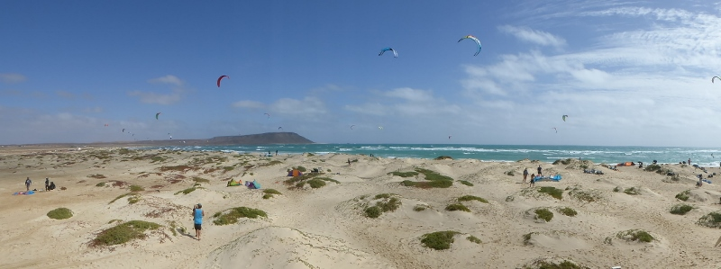 Kite Beach in Sal island, CapeVerde