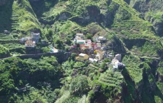 Fontainhas auf Santo Antão mit VIP Tours Cabo Verde