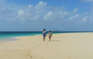 Beach Walk on Sal Cape Verde Islands