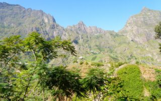Hiking in Paul Valley on Santo Antao